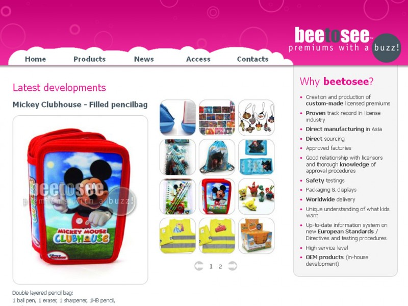 Website design : beetosee - Belgium